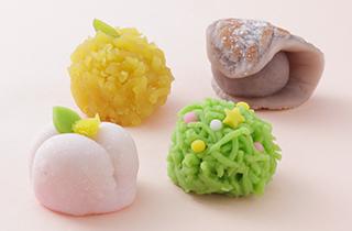 季節の生菓子 種類